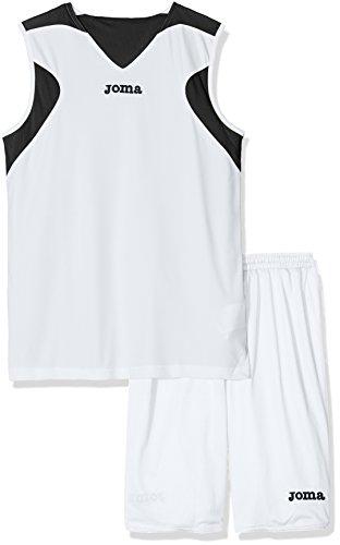 Joma Erwachsene Mannschaftsbekleidung, Blanco Negro, XS-S