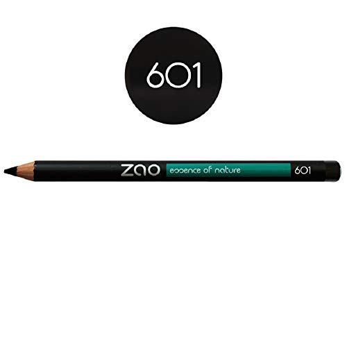 Zao Organic Makeup - lápiz delineador de ojos negro