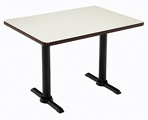 "KFI Seating Mode Multipurpose Table 41"" x 30"" x 60"" Crisp Linen -  KFI Studios, T3060-B2065-BK-CL-38"