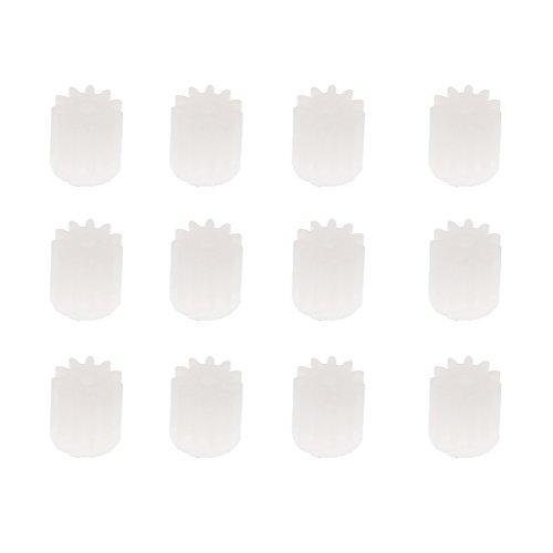 12 Piezas Engranaje de Motor de 11 Dientes para Hubsan H502S H502E U818A F181 H12C Piezas