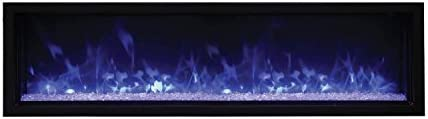 Amantii Panorama Indoor Outdoor Extra Slim Built in Electric Fireplace BI 60 XTRASLIM 60 Inch product image