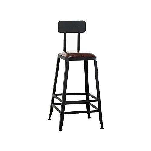 Barstools-BYTGK industriële barkruk met voetsteunen ontbijt eetkamer huisstoelen teller keuken bar J1124
