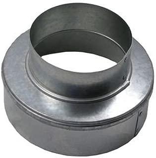 Increaser/Reducer - Galvanized 10x6 inch