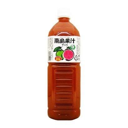 南島果汁 グァバ 1L×6本 PET