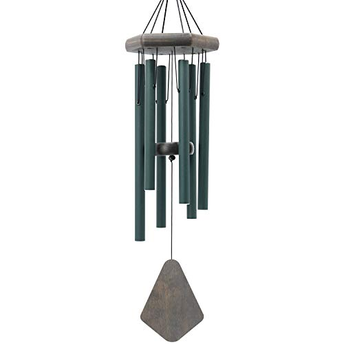 ASTARIN Memorial Wind Chimes Outdoor Deep Tone| 28 Inches Sympathy Wind Chimes with 6 Aluminum Tuned Relaxing Melody| Wind Chimes for Your Garden, Patio, Or Yard Decor