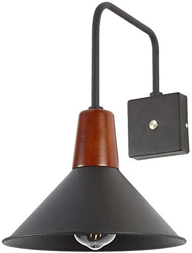 PSOU wandlamp Nordic LED-wandlantaarn, eenvoudig te lezen wand-leeslamp zwart, slaapkamer nachtwandlamp zwart modern woonkamer gang eetkamer study decoratieve wand 3.21