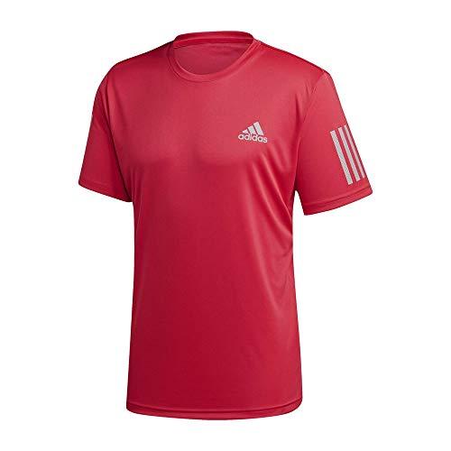 adidas Club 3STR tee Camiseta, Hombre, rosint, M