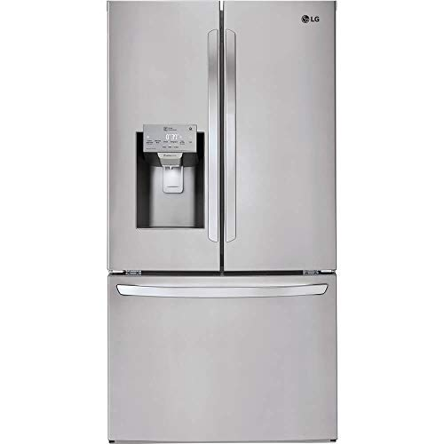 LG LFXC22526S 24 Cu. Ft. Stainless Counter Depth French Door Refrigerator