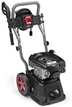 Briggs & Stratton Gas Pressure Washer 3100 PSI 2.5 GPM Lithium-Ion Electric Start with 30' Hose, 5-in-1 Nozzle & Detergent Tank