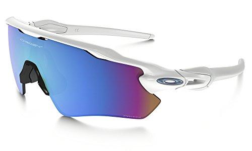 Oakley Radar EV Path Sunglasses Polished White/Prizm Snow & Care Kit Bundle