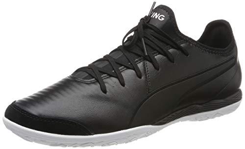 PUMA King Pro IT, Zapatillas de fútbol Unisex Adulto, Negro Black White, 39 EU