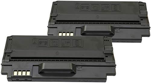 TONER EXPERTE® 2 Cartuchos de Tóner compatibles con Samsung ML-D1630A (2000 páginas) SCX-4500 SCX-4500W ML-1630 ML-1630W