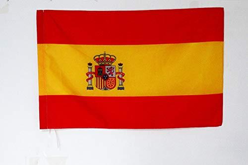 AZ FLAG Bandera Nacional DE Carrera ESPAÑA 90x60cm para Palo - Bandera ESPAÑOLA 60 x 90 cm
