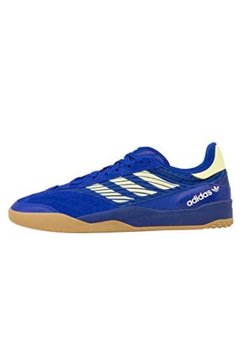 adidas Skateboarding Copa Nationale, Team Royal Blue-Yellow Tint-Footwear White, 11,5