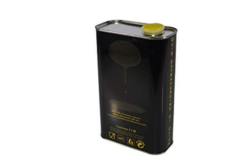 Zambonin agricoltura Contenitori per la conservazione dell'olio in Metallo Completi di Tappo (1, 1 litro)