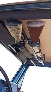 UTV Gun Rack - UTV Overhead Gun Rack For Honda Pioneer 700 (4 Seat) Front Seat Only - Horizontal Fitment by Great Day