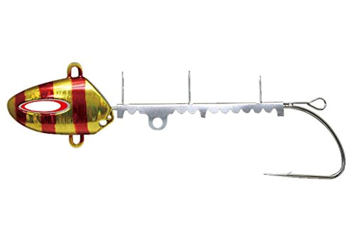 回る仮定手荷物JACKALL(ジャッカル) テンヤ アンチョビドラゴンテンヤ 50号 レッドゴールドストライプ.