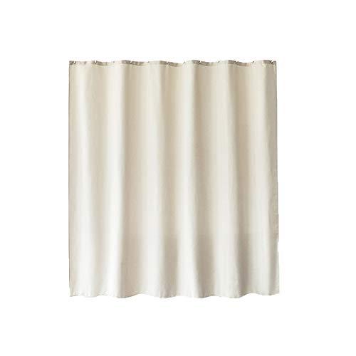 Shower Curtains Duschvorhang Wasserdichten Mehltau Toilette Vorhang mit Trennwand Bad Verdickung drapieren (Color : Pink)