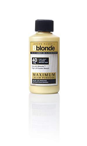 Jerome Russell Bblonde - Crema decolorante de 40 volúmenes, peróxido al 12%.