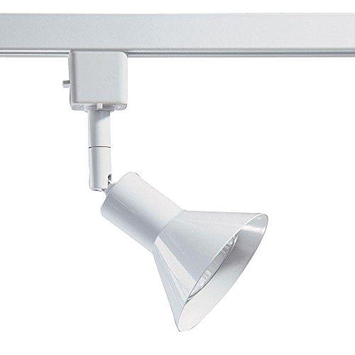 Kendal Lighting TLGU-17-WH   Designers Choice 1 Light 120V GU10 Track Head, White Finish