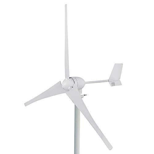 FlowerW 700 Watt 12 V Wind Turbine Generator 3 Klingen Kit MPPT Laderegler Horizontale Windkraftanlage Generator Power Supplementation (700 Watt 24 V)