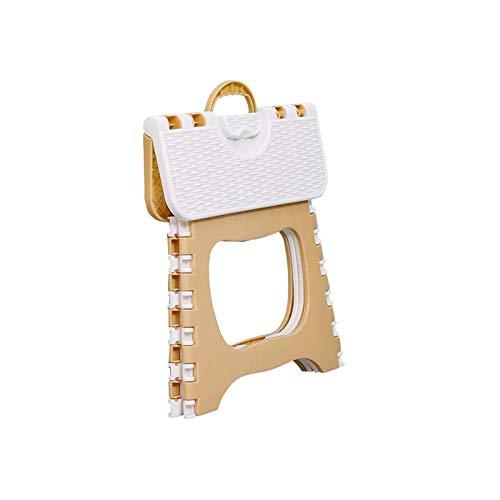 WANBAO Sencillo Silla Plegable Plegable Multiusos de plástico plástico Plegable Silla de Senderismo portátil para Exteriores 1 PC