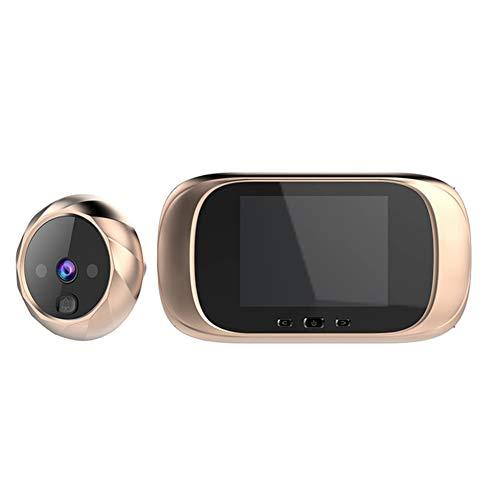 WSY 2,8-Zoll-LCD-Schirm-Digital-Türklingel-Tür-Augen-Türklingel Elektronische Tür-Camera Viewer Außentürklingel,B