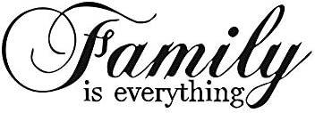 Family is Everything Wall Sticker Motivational Wall Decals Family Inspirational Wall Stickers product image