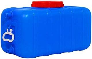 Seau rectangulaire rectangulaire rectangulaire de ménage bleu, godet en plastique de qualité alimentaire domestique, grand...