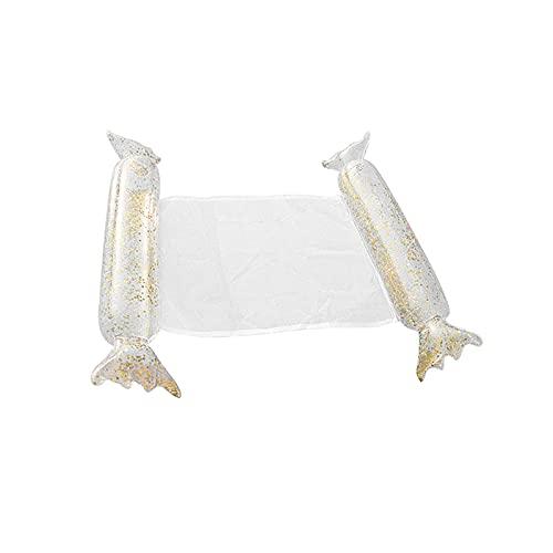 FYRMMD Hamaca flotante inflable de la cama de la red, cojín de dormir de la piscina, aire del placer Matt agua herramientas