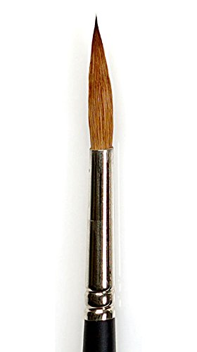 Winsor & Newton Professional Watercolor Sable Brush-Pointed Round #8, 8