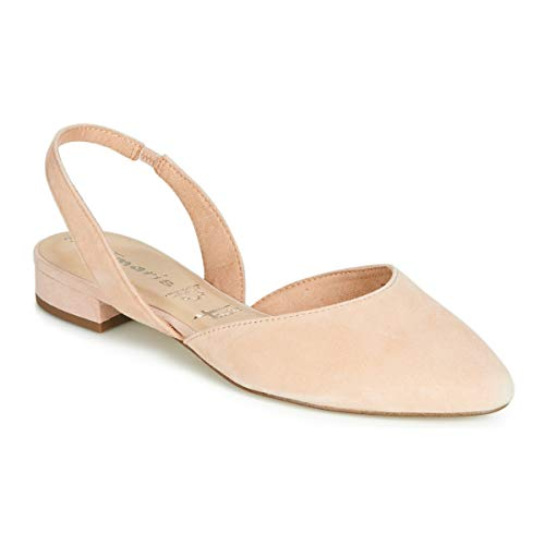 Tamaris Damen Ballerinas Da.-Sling 1-1-29401-22/251 beige 602600