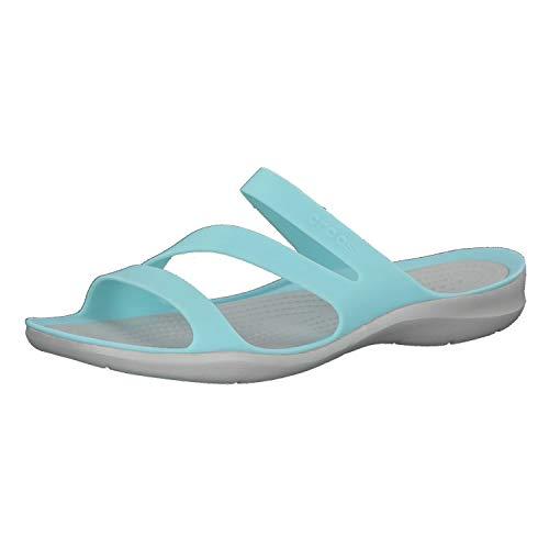 Crocs Swiftwater Sandal Women, Sandalias de Punta Descubierta Mujer