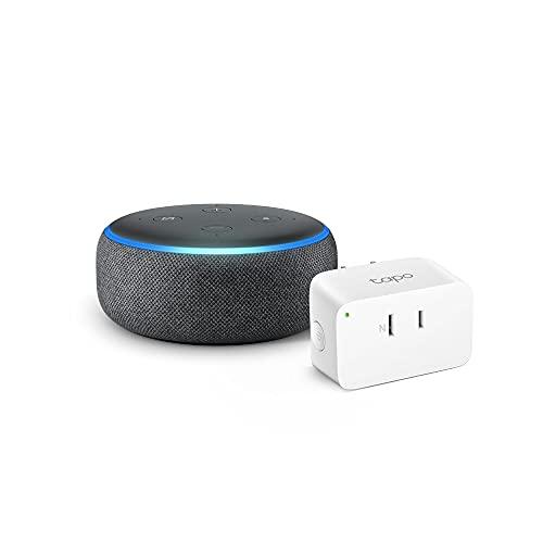 【セット買い】Echo Dot (第3世代) チャコール +TP-Link Tapo スマートプラグ