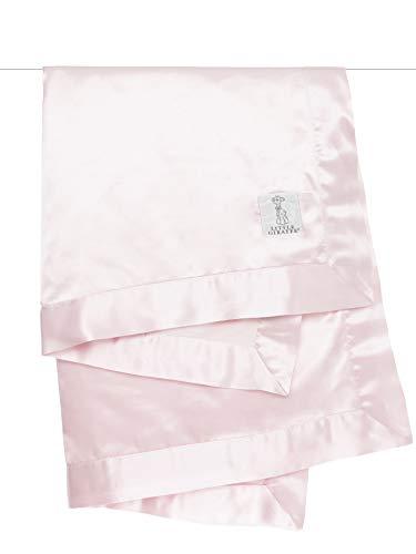 """Little Giraffe Velvet Deluxe Blanket, 29"""" x 35"""", Pink"""