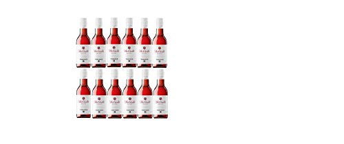 De Casta, Vino Rosado - 12 botellas de 18.7 cl, Total: 2244 ml