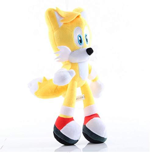 JIAL Sonic Spielzeug 25Cm Sonic Schatten...