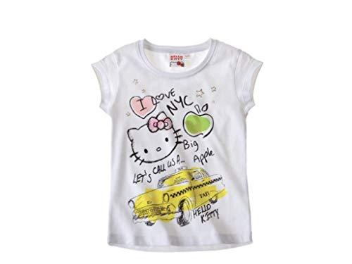 Hello Kitty, confezione doppia di magliette, di colore bianco bianco 11 anni
