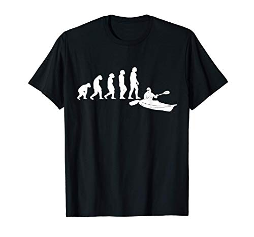 KAYAK CANOE RAFTING Pagaie KAYAKER Évolution KAYAK T-Shirt