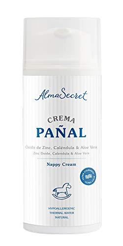 Alma Secret Crema de Pañal con Óxido de Zinc, Caléndula & Aloe Vera - 100 ml