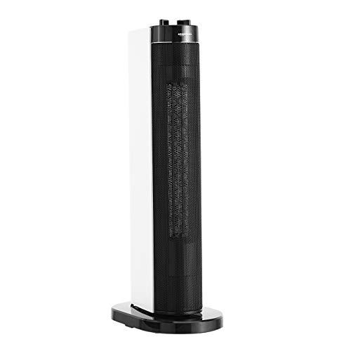 AmazonBasics - Stufetta elettrica oscillante a torre, 2 impostazioni di calore, 2000 W