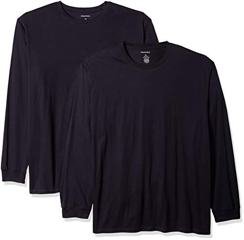 Propper Lot de 2 t-Shirts à Manches Longues pour Homme. XXXXL LAPD Navy