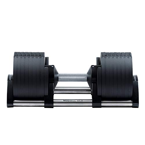 BODYTECH x NUOBELL Collaboration Product, Adjustable Dumbbell, Multiple Levels of Weight Change with one-Hand 50LB
