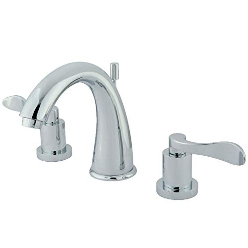 6 in. Modern Widespread Lavatory Faucet in Chrome