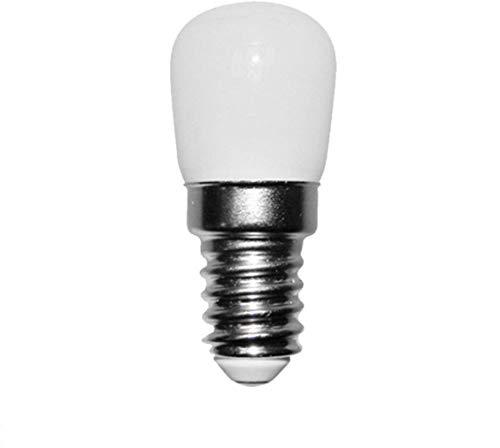Kit 55 lampade led IBT E14 1,5W per FLOS 2097 luce calda, lampada in vetro bianco opalino 100 lumen