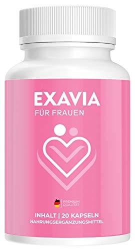 Exavia für Frauen | Aphrodisiakum | 20 Kapseln