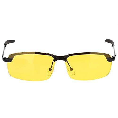 Jingyig Gafas de Sol polarizadas de visión Nocturna, Gafas portátiles, antideslumbramiento para Mujeres para Conducir para Hombres en Bicicleta