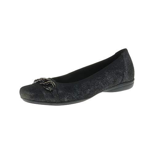 Gabor damesschoenen Ballerina zwart 9262367