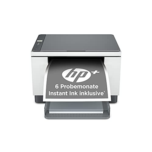 HP LaserJet MFP M234dwe Multifunktionslaserdrucker (HP+, Drucker, Scanner, Kopierer, WLAN, LAN, Duplex, Airprint, mit 6 Probemonaten Instant Ink inklusive)