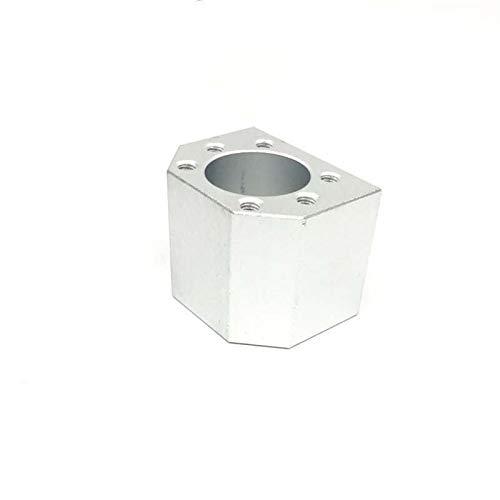 ADUCI 3pcs 1605 Bola Tuerca Soporte de la Cubierta Holder 16mm de Aluminio for Tornillo de la Bola SFU1605 SFU1604 SFU1610 CNC de Piezas